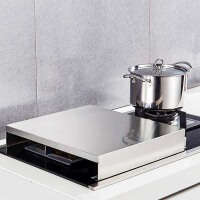 304不锈钢电磁炉支架底座液化天燃气煤气灶盖桌灶台盖板厨房用具