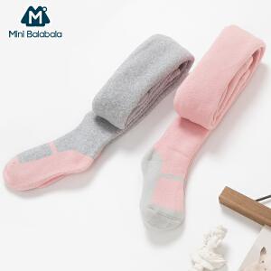 迷你巴拉巴拉女童打底袜秋冬新款袜子儿童打底袜连裤袜