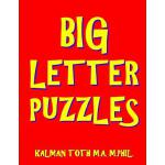 预订 Big Letter Puzzles: 133 Large Print Themed Word Search P
