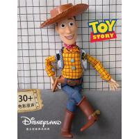 正版玩具总动员4 胡迪警长翠丝可说话发声公仔迪士尼布偶娃娃手办
