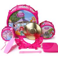 【当当自营】迪士尼 乐器玩具 架子鼓 打击乐器 教音乐乐玩具 公主大号爵士鼓 SWL-714C
