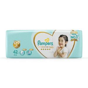 [当当自营]帮宝适 日本进口一级纸尿裤 加大码XL42片(12kg以上) 大包装