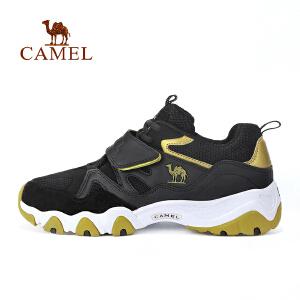 camel骆驼运动情侣款越野跑鞋 耐磨透气舒适跑步鞋男女款