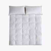 【任选3件4折,2件5折】当当优品羽绒床垫 纯棉立体加厚鸭绒床垫 学生床褥90*195cm