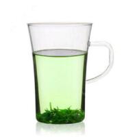 自由城 耐热玻璃杯 玻璃 情侣茶具情 2只装啤酒杯 水杯 1510