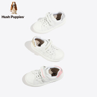 暇步士童鞋男女童小白鞋2019秋季新款儿童运动鞋透气软底休闲板鞋(3-15岁可选)DP9559