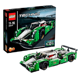 LEGO 乐高 TECHNIC机械组 24小时全天候赛车 积木拼插儿童益智玩具 42039