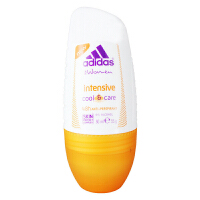 阿迪达斯(Adidas) 女士走珠香水香体止汗露液滚珠加倍清爽50ml 3972