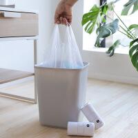加厚垃圾袋家用背心式�N房�c�嘈鸵淮涡园咨�手提塑料袋拉圾袋大�