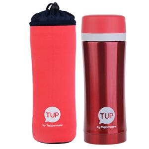 特百惠保温杯420ml茶韵保温瓶男女车载水杯保温水杯送杯套