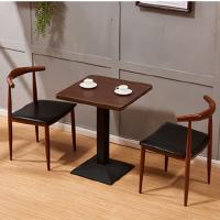 先创XC-ZY131餐桌椅接待桌椅一桌两椅