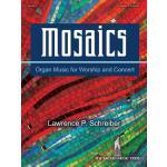 【预订】Mosaics: Organ Music for Worship and Concert