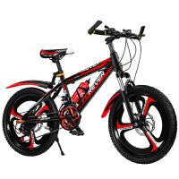 永久儿童自行车男孩中大童小女孩学生赛车脚踏车碟刹变速山地单车