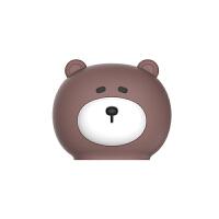 马克图布martube小熊考拉暖水袋可爱注水热水袋迷你便携创意硅胶 棕色熊NSD1903