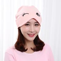 产妇帽头巾时尚秋冬用品坐月子帽春夏产后秋季女孕妇帽子