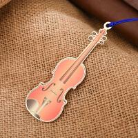 碳墨轩 彩晶系列 小提琴 古风书签 当当自营