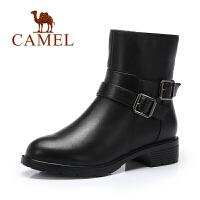 Camel/骆驼女鞋  欧美休闲短靴 时尚简约女靴
