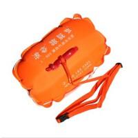 浪姿跟屁虫 L903 第四代双气囊安全游泳浮漂跟屁虫游泳包 橙色