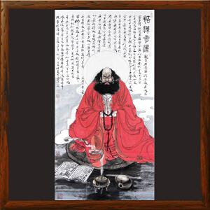 《达摩》李志远-一级美术师【HEOML2757】