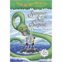 神奇树屋31:海蛇的夏天 Summer of the Sea Serpent 英文原版 两种封面随机发货