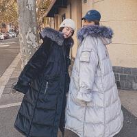 大码棉衣女a版孕后期孕妇冬装外套韩版宽松中长款棉袄
