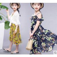 女童韩版时尚童装户外新款儿童公主连衣裙休闲百搭大童10岁12女孩裙子女装