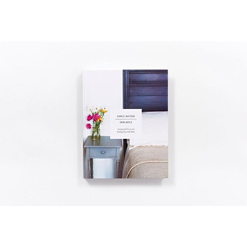 【中商原版】简单生活,少即是多 英文原版 Simple Matters Erin Boyle Abrams Books DIY居家装饰装修