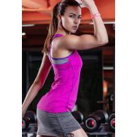 吸湿排汗无袖专业瑜伽服跳操弹力修身带胸垫背心跑步运动健身上衣女 支持礼品卡