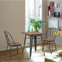 先创XC-ZY136休闲桌椅铁艺户外桌椅一桌两椅