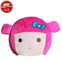 春笑 情侣款豆豆男孩 USB暖手鼠标垫/USB鼠标垫/USB电热鼠标垫(粉色)T2109