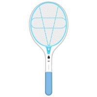 充电电池式家用电蚊拍灭蚊子拍大号网面强力电灭苍蝇拍