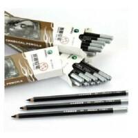 马利牌C7300软中硬性炭画铅笔素描炭笔炭笔马利碳笔素描铅笔 软性