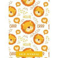 【预订】Lion Journal: Cute Lined Notebook for kids & Children P