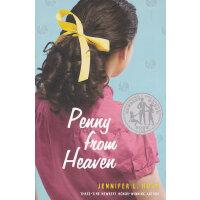 Penny from Heaven 天堂里的佩妮(2007年纽伯瑞银奖) ISBN 9780375836893