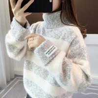 内搭打底衫秋冬上衣哺乳装外出时尚哺乳衣服冬季辣妈款喂奶毛衣
