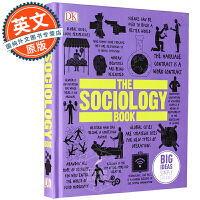 DK社会学百科 英文原版 The Sociology Book: Big Ideas Simply Explained