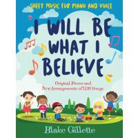 【�A�】I Will Be What I Believe [book and CD]