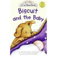 小饼干狗 英文原版 绘本汪培�E书单推荐 0-3岁 Biscuit and the Baby
