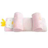 婴儿枕头防偏头定型枕0-3-6个月-1岁新生儿防翻滚荞麦壳枕头
