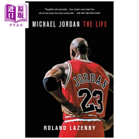 【中商原版】�~克���痰ぷ�� 英文原版 Michael Jordan: The Life �M口原版 NBA�髌婊@球球星