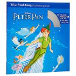 【中商原版】英文原版 彼得潘 书+CD 有声读物 Peter Pan Read-Along Storybook and