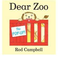 英文原版 亲爱的动物园 幼儿英文绘本 立体书 The Pop-Up Dear Zoo