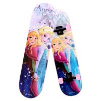 迪士尼(Disney)冰雪奇缘四轮滑板双翘枫木儿童青少年公路专业代步滑板车SD10002-F 当当自营