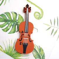 2018新款 创意吉他U盘32g 女生可爱U盘小提琴钢琴麦克风U盘车载学生迷你优盘 官方标配