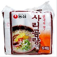 韩国进口食品 农心 牛骨汤面(连包)110g袋*5