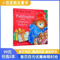 99选5 Paddington and the Christmas Surprise 帕丁顿熊和圣诞惊喜 英文原版绘本