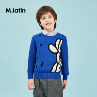 【2件2折后到手价:93.8元】马拉丁童装男童圆领毛衣春装