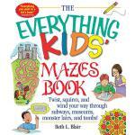 【预订】The Everything Kid's Mazes Book: Twist, Squirm, and Win