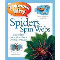 英文原版绘本 十万个为什么 I Wonder Why Spiders Spin Webs