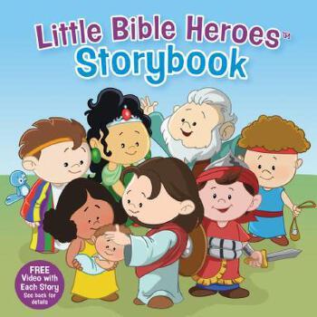 【预订】Little Bible Heroes Storybook 预订商品,需要1-3个月发货,非质量问题不接受退换货。